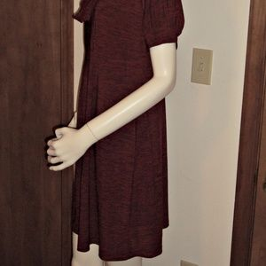 Blu Sage Dresses - Blu Sage Cowl Neckline Casual Dress